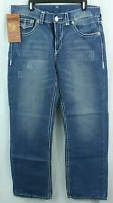 TRUE RELIGION men's SURF 36x34 Blue Jeans NWT Made in USA RARE SURF style