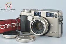 Excellent-!! CONTAX G2 + Carl Zeiss Planar 35mm f/2 T* Rangefinder Film Camera