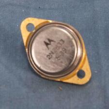 Motorola 2N2833 Through Hole Vintage Transistor dq