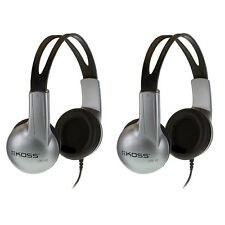 2 Pack Koss UR-10 Closed-ear Adjustable Stereo Headphones