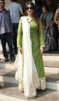 Indian kurta dress With dupatta paalzzo Flared Top Tunic Set blouse Combo Ethnic