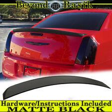 For Chrysler 300 2011 2021 Oe Factory Style Lip Spoiler Trunk Wing Matte Black Fits Chrysler 300
