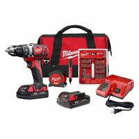 Milwaukee 2606-22CTP M18 Cordless Drill/Driver Kit + Bonus - Brand New!