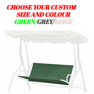 Replacement Part for Swinging Garden Bench/Hammock Seat Custom Size 3 Colours