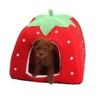 Soft Pet Dog Cat Bed House Kennel Doggy Puppy Warm Pad Cushion Basket Mat N D9K7