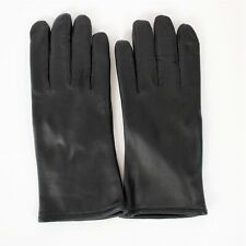 SAMCO Black Size 6 Leather Gloves Polyester Wool Lining New