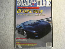 Road & Track September 1992 Jaguar XJ220 Porsche 911 RS Ford Probe GT 240SX
