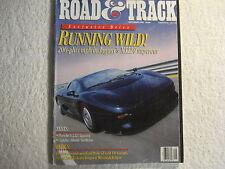 Road & Track September 1992 Jaguar XJ220 Porsche 911 RS Ford Probe GT 240SX