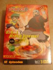 23606//COFFRET 3 DVD BEYBLADE METAL FUSION VOLUME 2 - 3 DVD 4/5/6 - NEUF