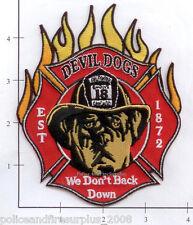 Illinois - Chicago Engine 18 IL Fire Dept Patch - Devil Dogs