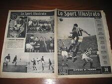 LO SPORT ILLUSTRATO GAZZETTA 1950/3 FIORENTINA JUVE PADOVA INTER ATALANTA