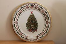 Lenox 2011 Annual Holiday Tree Collector Plate~Chili~Nib & ready for Christmas