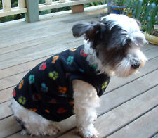 Dog Coat handmade washable polar fleece size medium
