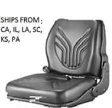 VINYL SCRUBBER SWEEPER SEAT GS12 B12 TENNANT MODEL 7400 / 8200 / 8210 8400 8410