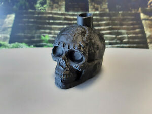 Aztec Skull Whistle (Screaming / Death Whistle) - Novelty Item / Gift - Black