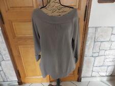 pull femme gris t 46/48 zamba
