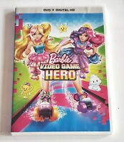 Barbie: Video Game Hero RARE KIDS DVD WITH CASE & COVER