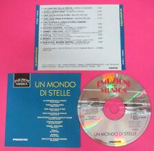 CD Compilation Un Mondo Di Stelle ALBERTO FORTIS RICCARDO FOGLI no lp mc*vhs(C43