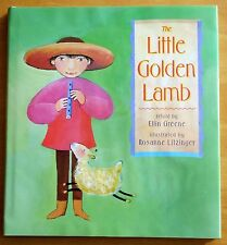 The Little Golden Lamb by Ellin Greene 2000 HC DJ First Printing LITZINGER ILLUS