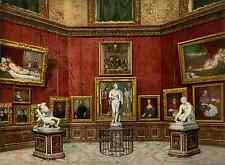 Firenze. Galleria Uffici. Salla della Tribuna.  PZ vintage photochromie, photoch