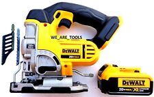 DeWalt DCS331 20V Cordless Variable Speed Jig Saw,1) DCB204 Battery Max 20 Volt