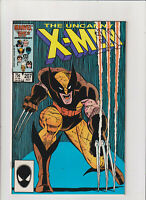 Uncanny X-Men #207 VF+ 8.5 Marvel Comics 1986 Classic Wolverine Cover