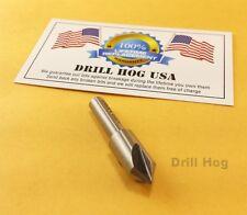 "3/8"" Countersink 3/8"" Reamer 3 Flute Cobalt M42 82° Drill Hog Lifetime Warranty"