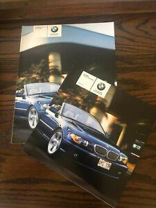 BMW 3 SERIES CONVERTIBLE  BROCHURE & PRICE LIST 2004