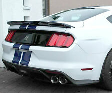 """2015 and Up Painted Ford Mustang """"Trak Pak"""" Factory Style Lipmount Spoiler"""