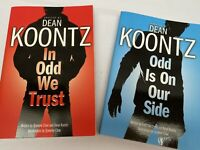 Two Dean Koontz Odd Thomas Graphic Novels, In Odd We Trust + Odd Is On Our Side