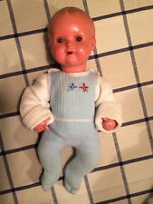 Schildkröt Celluloid Baby-Puppe 29 cm um 1950