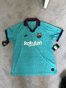 Nike FC Barcelona Stadium Third Jersey Mens XL Cabana AT0029-310