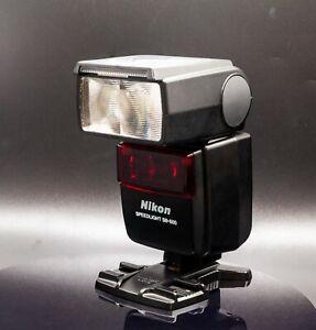 Nikon Speedlight SB-600 Shoe Mount Flash & Nikon AS-19 Stand & Carry Case