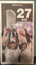 Newark Star-Ledger 11/6/2009: NY Yankees World Series special