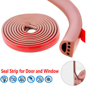 Soundproof Weather Stripping For Door Window Sealing Strip Draught Excluder