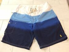 NWT POLO RALPH LAUREN BOARD SHORTS SWIM TRUNKS PONY SZ 32 MSRP $69.50