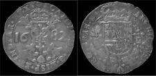 Southern Netherlands Brabant Karel II patagon 1682