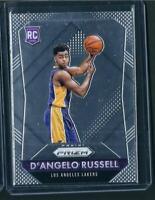 2015-16 Panini Prizm D'Angelo Russell RC #322 Minnestoa Timberwolves ROOKIE🔥