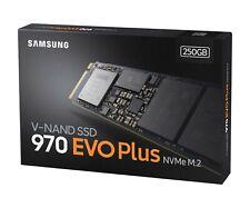 Original Samsung 970 EVO Plus NVMe M.2 SSD 250GB V-NAND MZ-V7S250