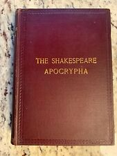 """1908 Antique Book """"The Shakespeare Apocrypha"""""""