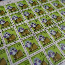feuille sheet Bogen Deutschland berlin Nr.298 x50 1968 neuf 1. Tag first day