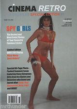 Cinema Retro Foto Files #1 - Spy Girls - James Bond 007 UNCLE Flint Harry Palmer
