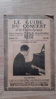 Il Guida Del Concerto E Delle Teatro Lirica - Paul Emerich - N°24 - 1929
