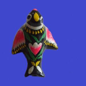 Traditional Handmade Cuckoo Whistle Chinese Folk Clay Ceramic Bird Ocarina Flute