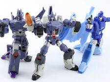 TRANSFORMERS GALVATRON SCOURGE CYCLONUS MINI DX9 WAR IN POCKET SET+STICKERS SET