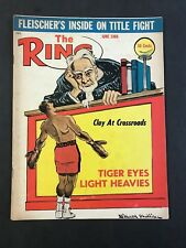 The Ring Boxing Magazine June 1966  Clay at Crossroads