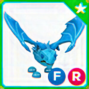 Roblox Adopt Me Fly Ride Frost Dragon