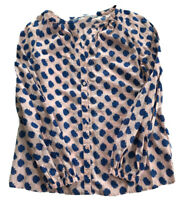 Boden Shirt Top Blouse Size 8. Blue And Pink. BNWOT. Ex Sample