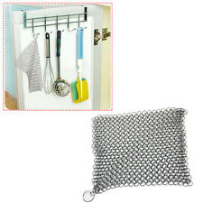 Acier Inoxydable Scrubber Cuisine Gadgets Laver pot net pour Quick Cleanup pot