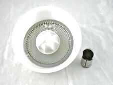 SunBeam Mixer Mix Master 4Pc Juicer Bowl Attachment Vintage Mixmaster Milk Glass